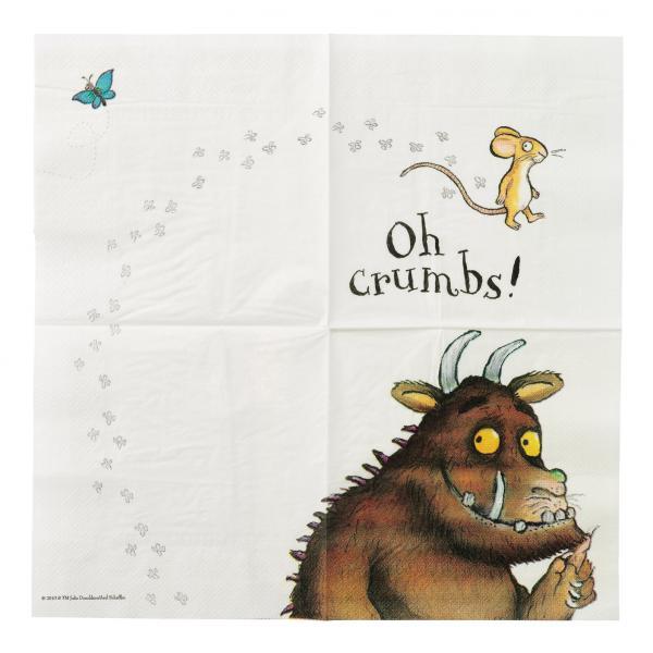 Papírové ubrousky Gruffalo