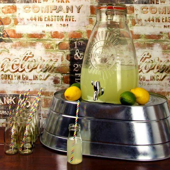 KILNER Čtvercový dávkovač (nádoba na limonádu) na pití 8l