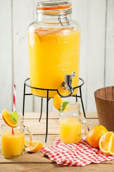 KILNER kulatý stojan na nádobu na limonádu