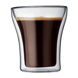 BODUM Assam dvoustěnná sklenice 2 ks, 0,2l