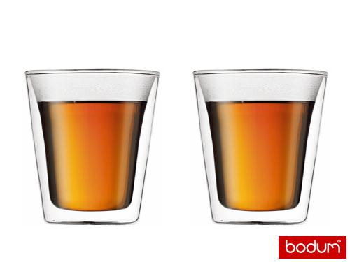 BODUM Canteen dvoustěnná sklenice set 2ks 0,2l