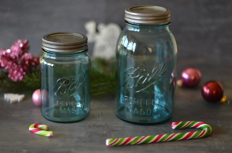 Ball® Aqua Vintage Regular Mouth zavařovací sklenice 950 ml