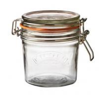 KILNER zavařovací sklenice s klipem 0,35 l  kulatá
