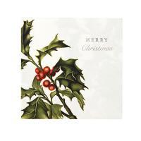 Vánoční papírové ubrousky Botanical