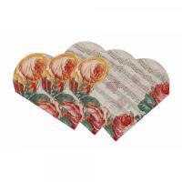 Romantické papírové ubrousky