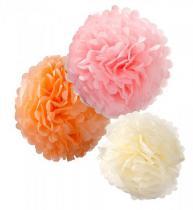 Pompomy pastel