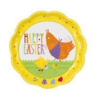 Velikonoční papírové talíře