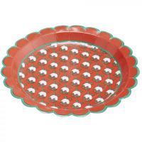 Vánoční papírové talíře