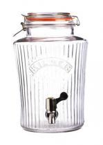 KILNER Vintage nádoba na limonádu (skleněný soudek)  5 litrů